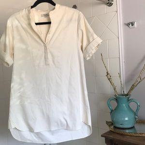 Madewell Shirt dress or shirt beige color size S